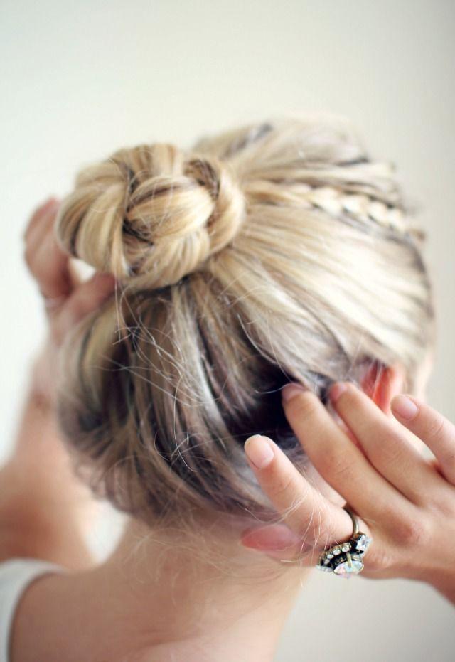Как сделать удобную причёску